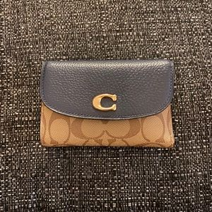 NEW Coach Remi Signature Medium Envelope Wallet